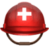 ⛑️ rescue worker's helmet Emoji on Apple Platform