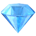 💎 gem stone Emoji on Apple Platform