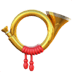 📯 postal horn Emoji on Apple Platform