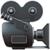 🎥 Movie Camera Emoji on Apple Platform