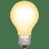 💡 light bulb Emoji on Apple Platform