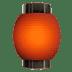 🏮 red paper lantern Emoji on Apple Platform