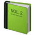 📗 green book Emoji on Apple Platform