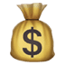 💰 money bag Emoji on Apple Platform