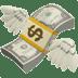 💸 money with wings Emoji on Apple Platform