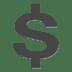 💲 heavy dollar sign Emoji on Apple Platform