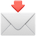 📩 Envelope With Arrow Emoji on Apple Platform