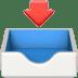 📥 inbox tray Emoji on Apple Platform