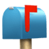 📫 closed mailbox with raised flag Emoji on Apple Platform
