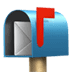 📬 open mailbox with raised flag Emoji on Apple Platform