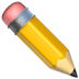 ✏️ pencil Emoji on Apple Platform