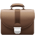 💼 briefcase Emoji on Apple Platform