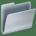 📂 open file folder Emoji on Apple Platform
