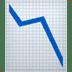 📉 chart decreasing Emoji on Apple Platform