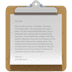 📋 clipboard Emoji on Apple Platform