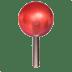 📍 Round Pushpin Emoji on Apple Platform