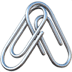 🖇️ linked paperclips Emoji on Apple Platform