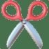 ✂️ scissors Emoji on Apple Platform