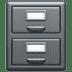 🗄️ file cabinet Emoji on Apple Platform