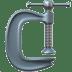 🗜️ clamp Emoji on Apple Platform