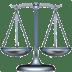 ⚖️ balance scale Emoji on Apple Platform