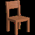🪑 chair Emoji on Apple Platform