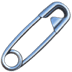 🧷 safety pin Emoji on Apple Platform