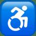 ♿ wheelchair symbol Emoji on Apple Platform