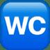 🚾 water closet Emoji on Apple Platform