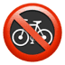 🚳 no bicycles Emoji on Apple Platform