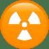 ☢️ radioactive Emoji on Apple Platform