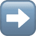 ➡️ Right Arrow Emoji on Apple Platform