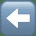 ⬅️ left arrow Emoji on Apple Platform