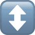 ↕️ up-down arrow Emoji on Apple Platform