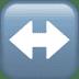 ↔️ left-right arrow Emoji on Apple Platform