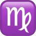 ♍ Virgo Emoji on Apple Platform