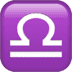 ♎ Libra Emoji on Apple Platform