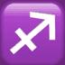 ♐ Sagittarius Emoji on Apple Platform