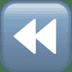 ⏪ fast reverse button Emoji on Apple Platform