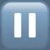 ⏸️ Pause Button Emoji on Apple Platform