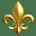 ⚜️ fleur-de-lis Emoji on Apple Platform
