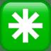 ✳️ eight-spoked asterisk Emoji on Apple Platform