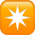 ✴️ eight-pointed star Emoji on Apple Platform