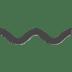 〰️ wavy dash Emoji on Apple Platform