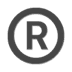 ®️ Registered Symbol Emoji on Apple Platform