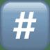 #️⃣ keycap: # Emoji on Apple Platform