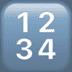 🔢 input numbers Emoji on Apple Platform
