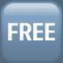 🆓 FREE Button Emoji on Apple Platform
