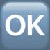 🆗 OK button Emoji on Apple Platform