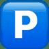 🅿️ P button Emoji on Apple Platform